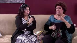 نونة المأذونة - إيمان السيد ورجاء الجداوي في مشهد كوميدي  .. داري على شمعتك تولع
