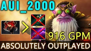 Dota 2 - WTF Sniper 916 GPM with MOM by Aui_2000 - Absolutely Outplayed