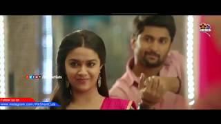 keerthi suresh deleted kiss scene Nenu local movie  Nani   Keerthi suresh