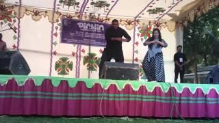 SMUCT DEP: AMMT .Picnic 2015 dance Hridoy & Nourin