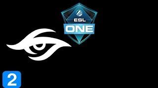 Secret vs SFTe-SPORTS Game 2  ESL One Hamburg 2017 Highlights Dota 2