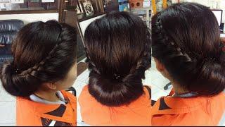 ถักเปียแบบสวยๆ แบบง่ายๆ สำหรับผมปานกลาง/ยาว : Pretty and Easy Braid Medium/long hair