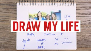 DRAW MY LIFE: 11 SIBLINGS, HOMESCHOOLED, AND LIVING IN LA