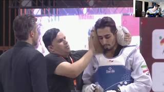 Fight Breakdown Episode 5! Male +80 Nigeria Vs Iran, -68Kg, Achab vs Taipei