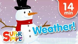 Our Favorite Weather Songs   Kids Songs   Super Simple Songs