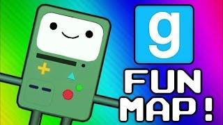 Gmod Adventure Map - 6 Challenges (Garry's Mod Sandbox Funny Moments)