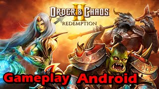 Order & Chaos 2: Redemption para Android - Gameplay - MMORPG 3D - Português BR
