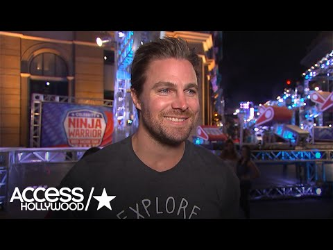 Stephen Amell Talks Competing On American Ninja Warrior I m Excited Access Hollywood