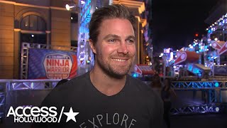 Stephen Amell Talks Competing On 'American Ninja Warrior': 'I'm Excited!'