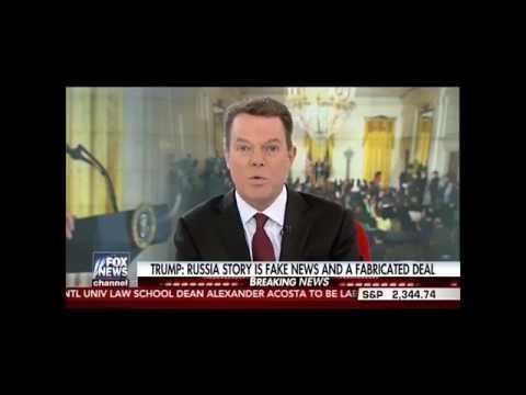 Shepard Smith slams Trump For Crazy Press Conference fox news