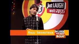 Raju Srivastav Best Comedy Ever | Just Laugh Baki Maaf (Part 5) - India TV