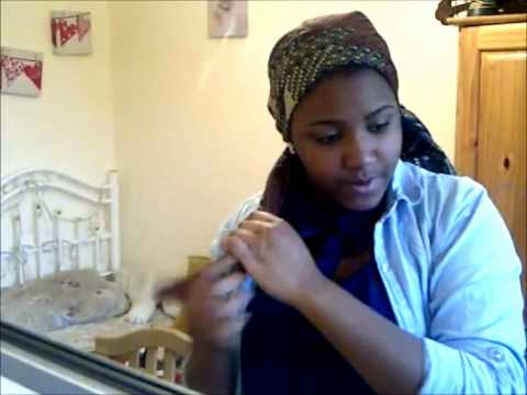 Hausa Inspired - Scarf Tutorial