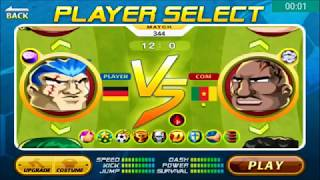 Head Soccer Challenge - Beat Cameroon by 12 Goals & Cyborg by 10 Goals