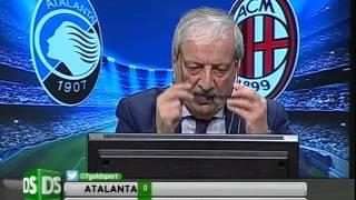 Diretta Stadio 7Gold Atalanta - Milan 2-1 L