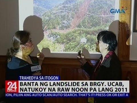 Xxx Mp4 Banta Ng Landslide Sa Brgy Ucab Natukoy Na Raw Noon Pa Lang 2011 3gp Sex