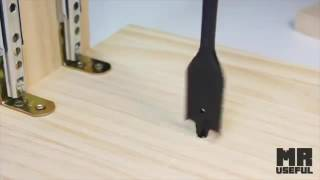 How to Make a Drill Press Machine _ Homemade Mini Drill