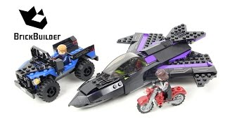 Lego Super Heroes 76047 Black Panther Pursuit - Lego Speed Build