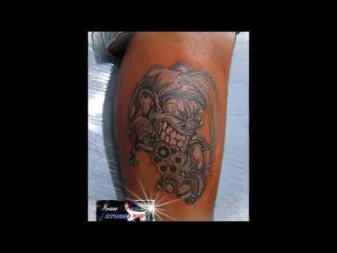 tattoo palhaço