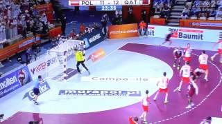 Polska Katar półfinał cały mecz MŚ piłka ręczna 2015 HD STUDIO BEKER