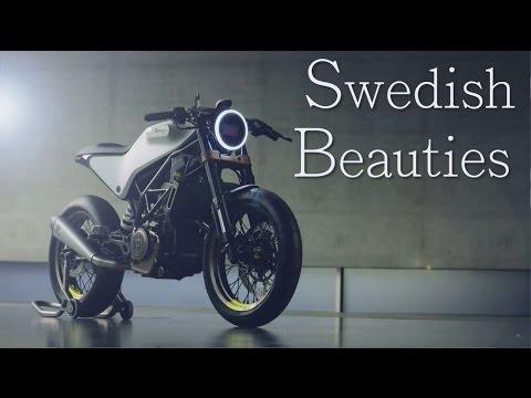 Cafe Racer and Scrambler Husqvarna 401 concept bikes