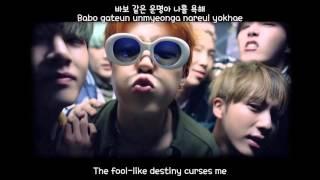 BTS - Run (eng sub + romanization + hangul) MV [HD]