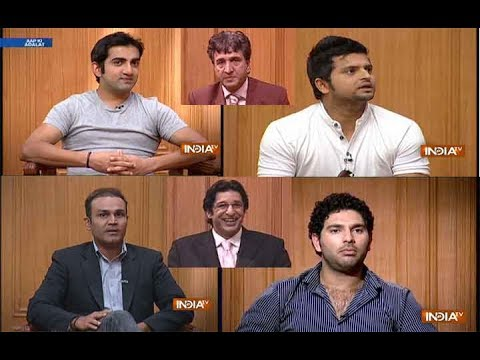 Xxx Mp4 Aap Ki Adalat Top Moments Of Indian And Pakistani Cricketers On And Off The Field 3gp Sex