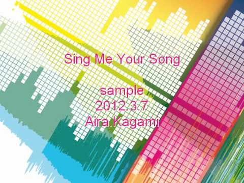 Sing Me Your Song (sample)