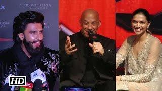 Oops! Vin Diesel confirms Ranveer as Deepika