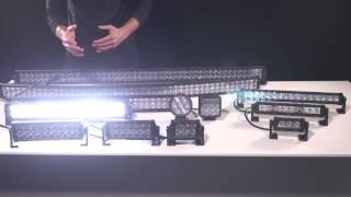 Carbine Series Off Road LED Light Bars & Work Lights Informative Video