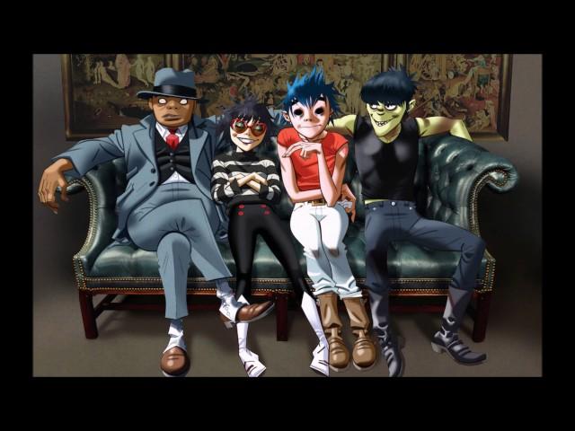 Gorillaz Murdoc and 2D on MistaJam (BBC Radio one) -interview