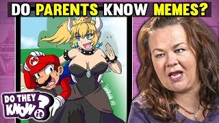 Do PARENTS Know MEMES? (Bowsette, Magenta, This is My Son)