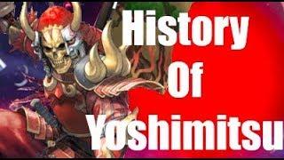 History Of Yoshimitsu Soul Calibur 6