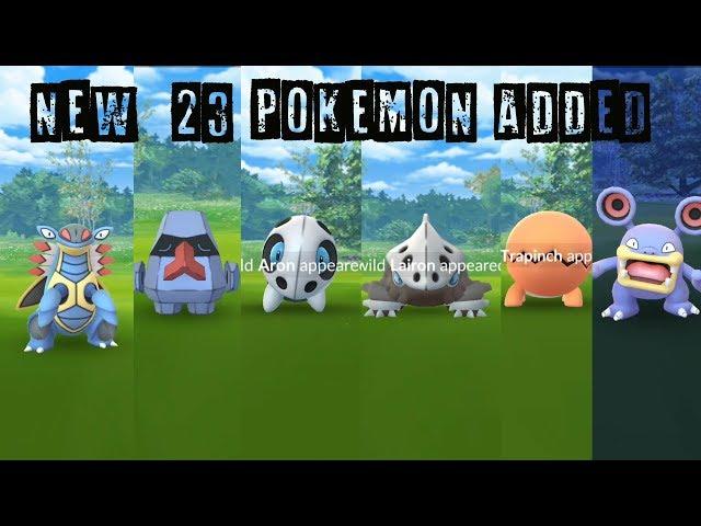 Catching New 23 Gen 3 Pokemon Discovered in Hoenn Region!