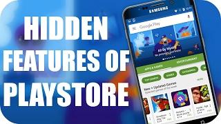 TOP 10 HIDDEN Features of Google PLAYSTORE 😎