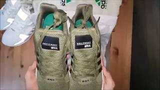 Adidas Eqt Adv Olive On Feet