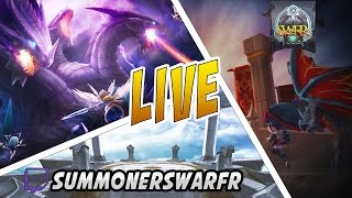 Summoners War - Live 08.12 - GVG/craft/arènes/Seara Hype