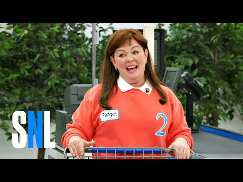 Cut For Time Supermarket Spree Melissa McCarthy SNL