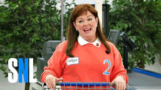 Cut For Time: Supermarket Spree (Melissa McCarthy) - SNL