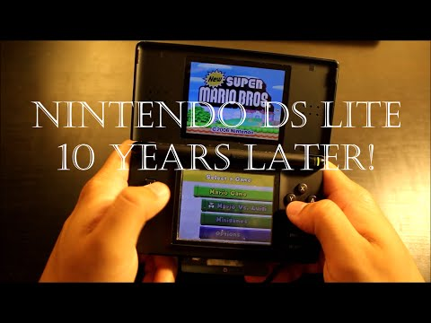 Xxx Mp4 Nintendo DS Lite 10 Years Later 3gp Sex