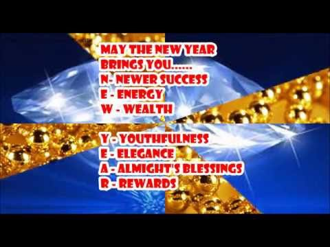 LATEST, UNIQUE, HAPPY NEW YEAR WISHES, E CARD, BEAUTIFUL WHATSAPP VIDEO