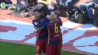 اهداف مبارة غرناطة و برشلونة 0-3 الدوري الإسباني 14-5-2016