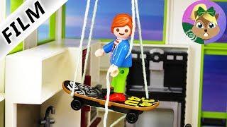 بلايموبيل فيلم | مصعد جوليان في فيلا فاخرة | هل سمعت عن مصعد بلوح التزلج للطيران !!