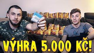 HLEDÁME PENÍZE V CHIPSECH - VÝHRA 5 000 KČ!