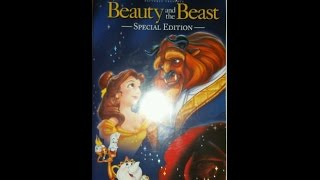 Opening & Closing To Beauty & The Beast:Special Edition 2002 VHS