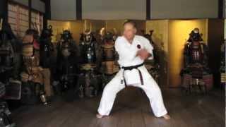 Worlds Karate Legend MORIO HIGAONNA Goju-ryu Master 10th Dan (pt.1)