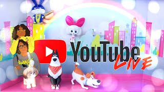 YouTube LIVE with The Froggys: Secret Life of Pets 2   Q&A   Fan Mail