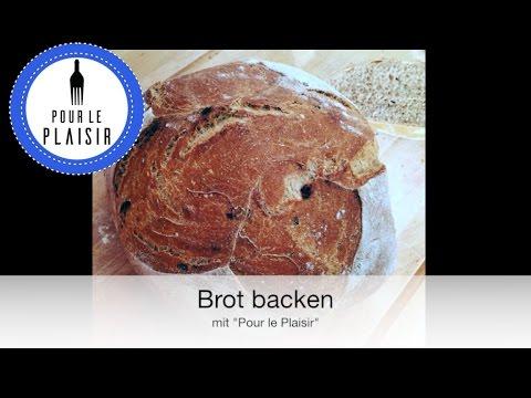 Brot selber backen / Brot mit einer genialen Kruste