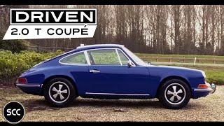 PORSCHE 911 2.0 T Coupé 1969 - Full test drive in top gear - Engine sound | SCC TV