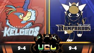 Pokémon ORAS Live Wi-Fi Battle [UCL S2W14] Carolina Keldeos vs StL Rampardos!