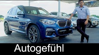 BMW X3 reveal REVIEW all-new SUV neu Offroad / Onroad 2018 - Autogefühl